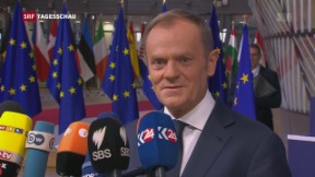Video «EU-Gipfel: Auftakt mit Dissonanzen» abspielen