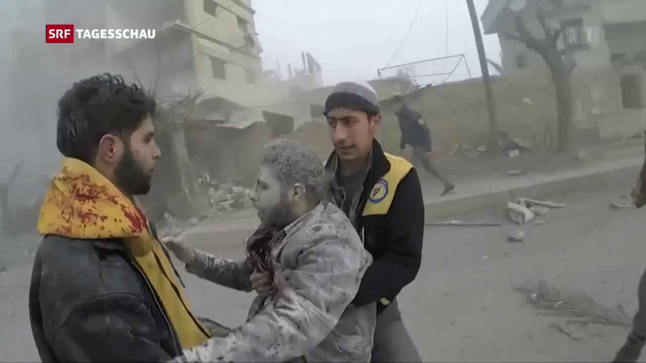 Lage in Syrien ausser Kontrolle