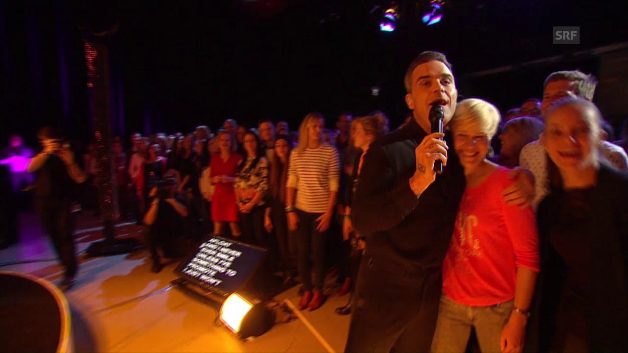 Robbie Williams «Party Like A Russian» – SRF 3 Showcase