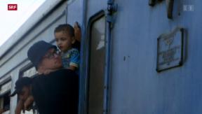 Video «Flüchtlingsströme in Europa» abspielen