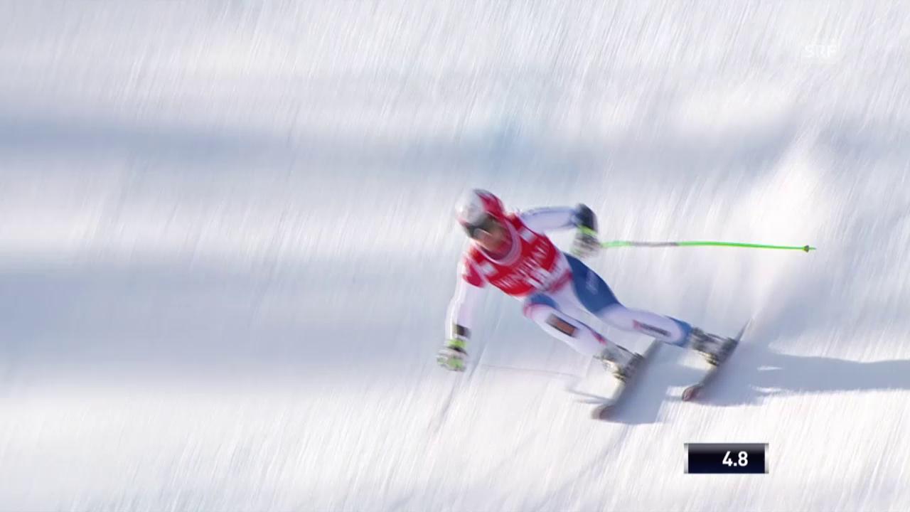 Ski alpin: Weltcup der Männer, Super-G in Kvitfjell, Patrick Küng
