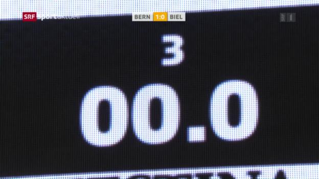 Video «Last-Second-Treffer für Bern» abspielen