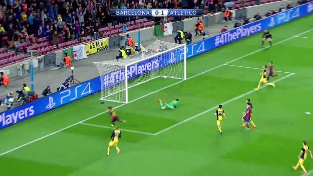 Fussball: Champions-League-Viertelfinal, Zusammenfassung Barcelona - Atletico Madrid