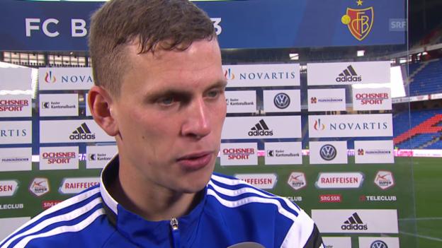 Video «Fussball: Fabian Frei vor Basel-Real» abspielen