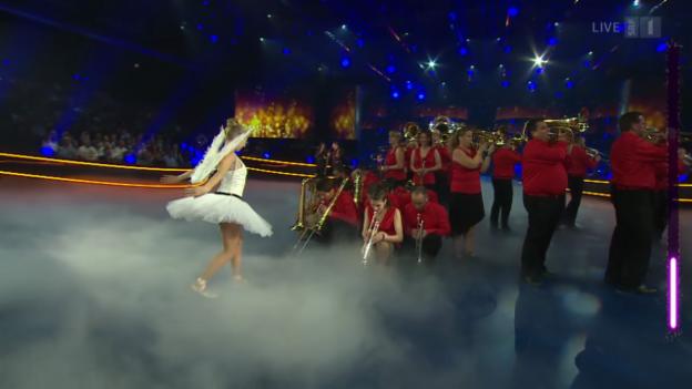 Video «Swiss Powerbrass mit «Ängel» und «Let Me Alpentain You»» abspielen