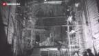 Video «Bau des Reaktors in Lucencs (SF Wochenschau 1969)» abspielen