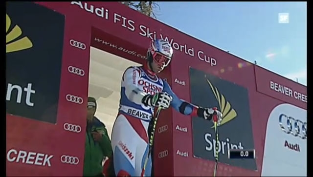 Ski alpin: Die Fahrt von Didier Défago («sportlive»)