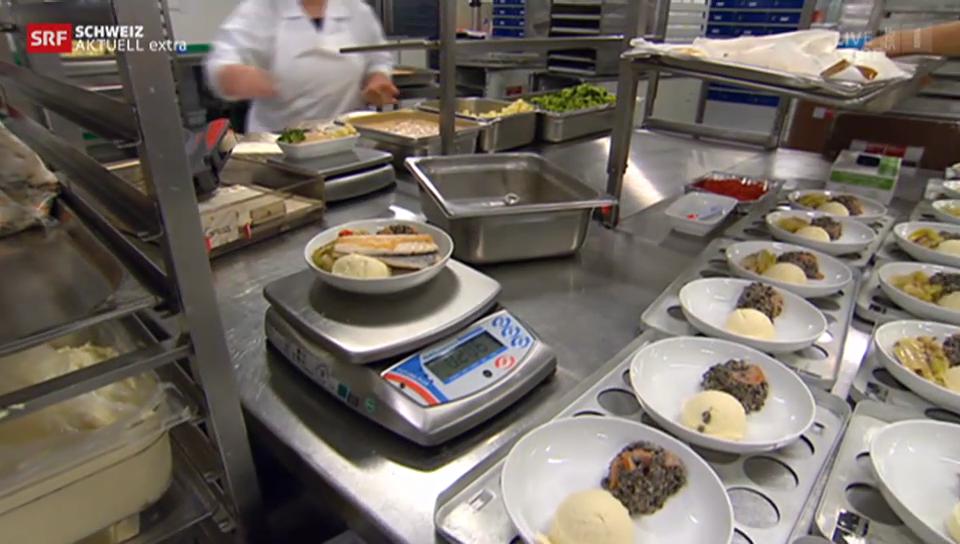 Dani Fohler wirft einen Blick in die Töpfe von Gate Gourmet