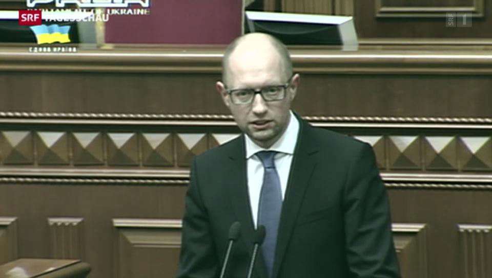 Ukrainische Regierung tritt zurück