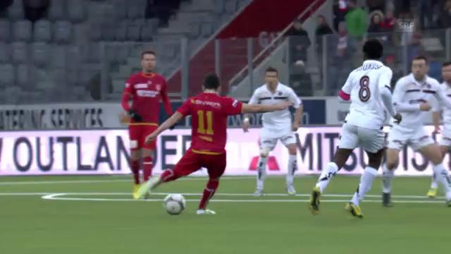 Rang 8: Thuns Steffen gegen Servette (6 %)
