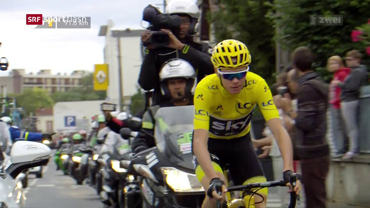 Positiver Dopingtest bei Chris Froome