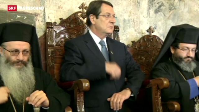 Zyperns Präsident unter Druck