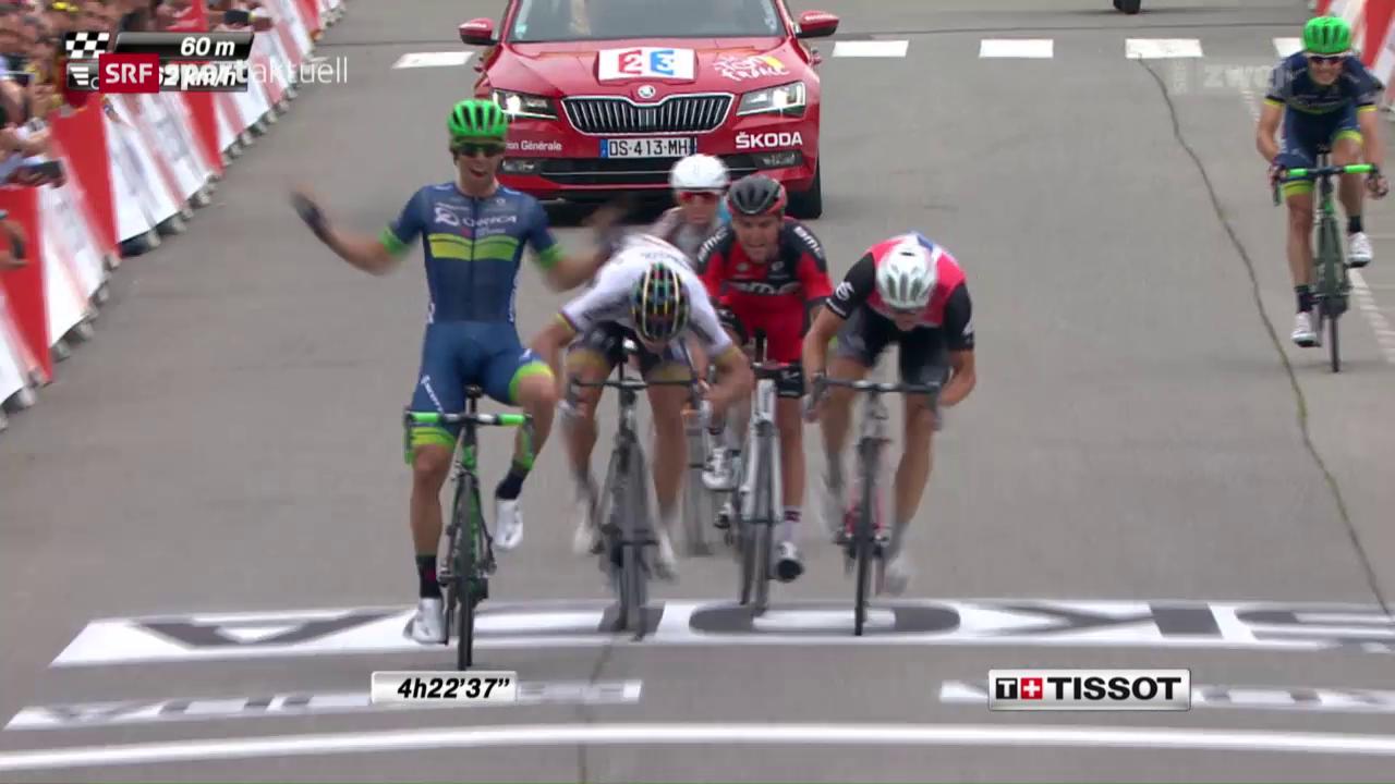 Matthews gewinnt 10. Tour-de-France-Etappe