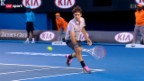 Video «Australian Open: Federer - Tomic» abspielen