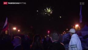 Video «Donezk und Lugansk erklären Abspaltung von der Ukraine» abspielen