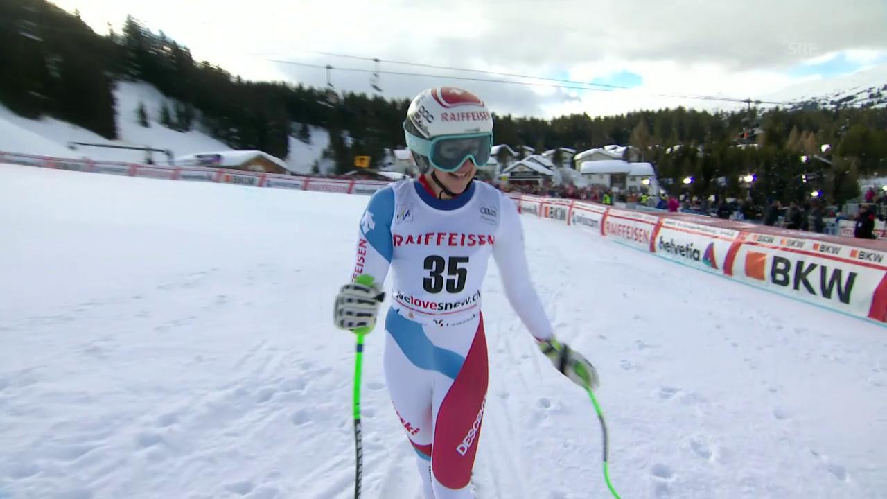 Das Weltcup-Debüt von Nathalie Gröbli
