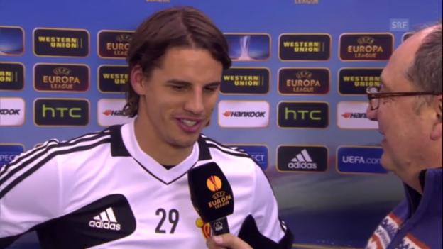 Video «Interview mit Yann Sommer («sportlive»)» abspielen