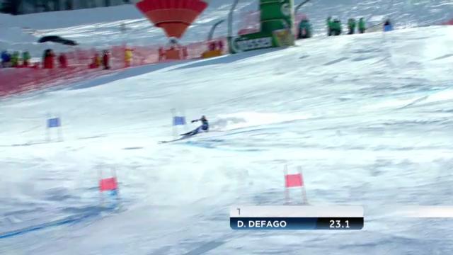 Der 1. Lauf von Didier Défago