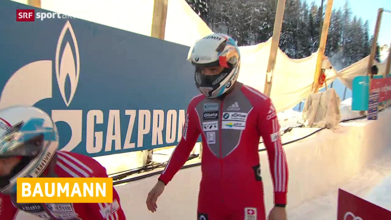 Bob: Gregor Baumann tritt zurück («sportaktuell»)