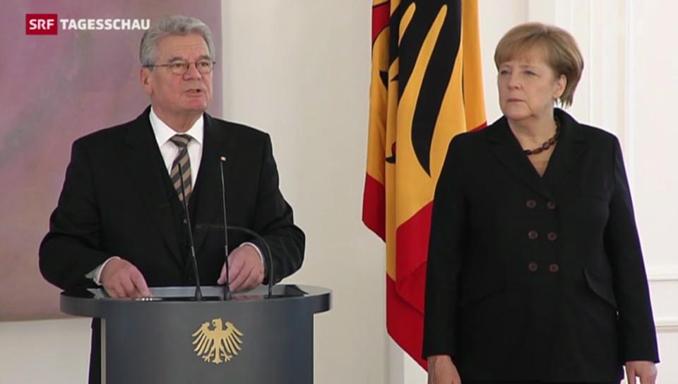 Merkel wieder Kanzlerin