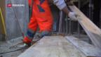 Video «Rahmenabkommen: Baumeisterverband bringt sich ein» abspielen