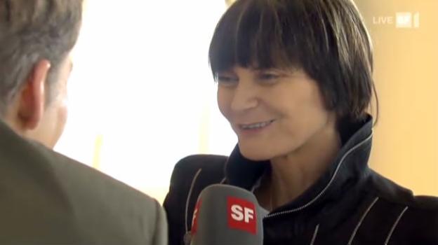 Video «Micheline Calmy-Rey auf Berndeutsch?» abspielen