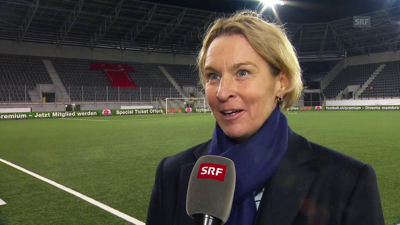 Voss-Tecklenburg drückt vielen Teams die Daumen