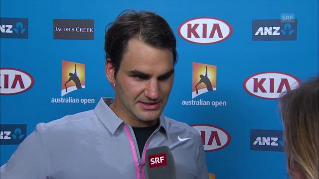 Tennis: Interview mit Roger Federer («sportlive»)