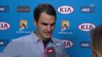 Video «Tennis: Interview mit Roger Federer («sportlive»)» abspielen