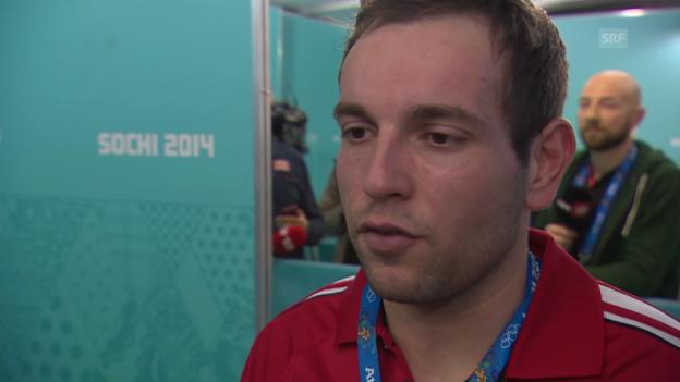 Video «Curling: Interview mit Sven Michel (sotschi direkt, 14.02.2014)» abspielen
