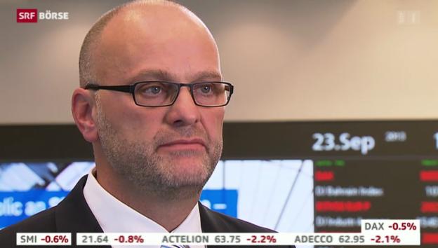 Video «SRF Börse vom 23.09.2013» abspielen