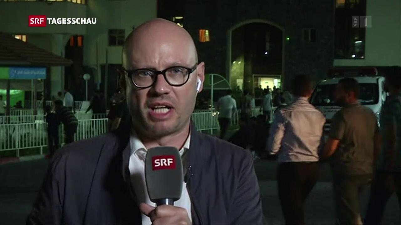 Pascal Weber, Korrespondent SRF, Gaza: «Die Menschen sind erschöpft und abgeschreckt»