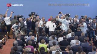 Video «Merkels Wahlkampf – mässig spannend» abspielen