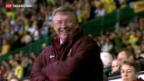 Video «Alex Ferguson hört bei ManU auf» abspielen