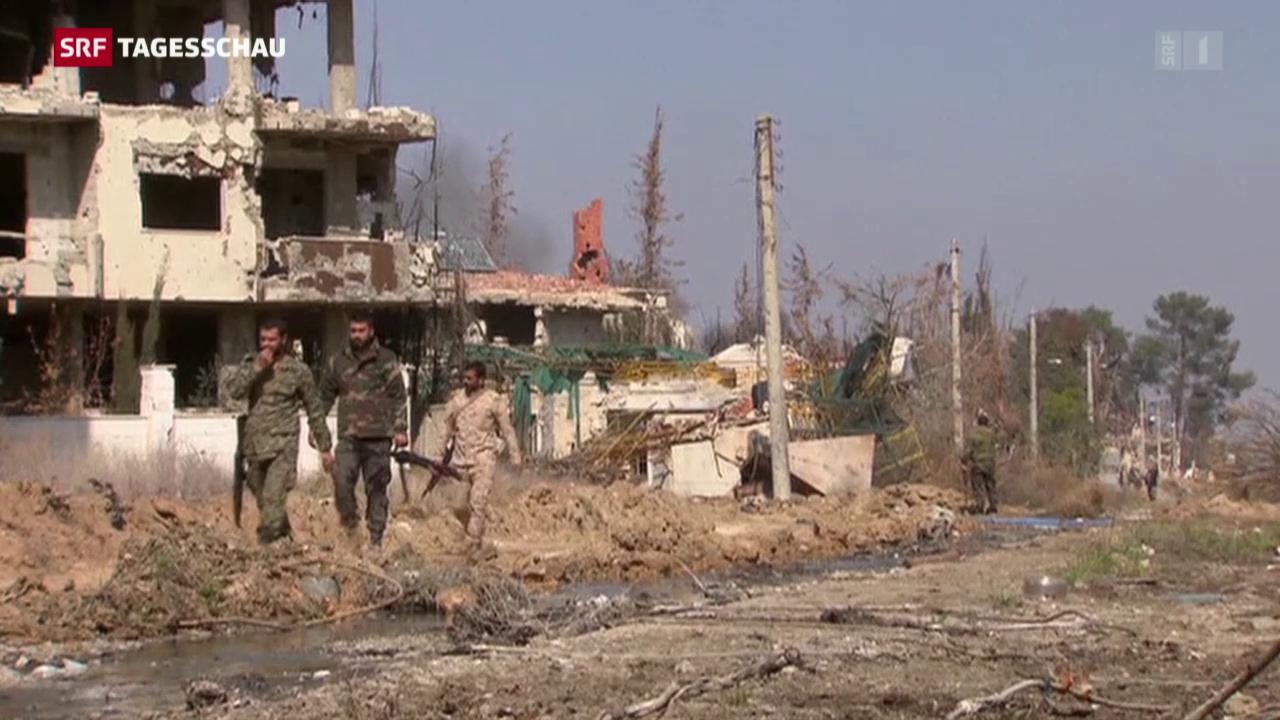 Syrien vor der Feuerpause