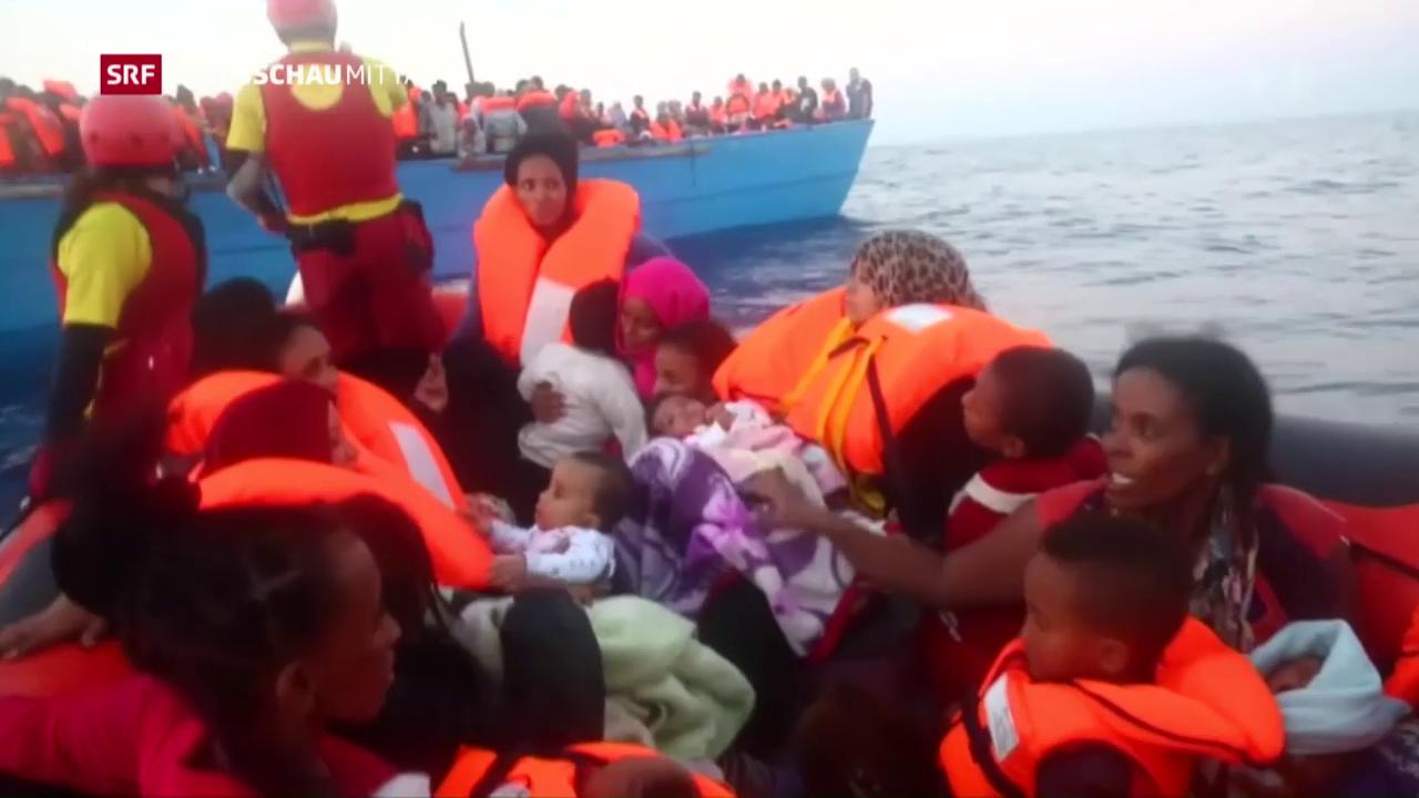 Mittelmeer-Route für Flüchtlinge immer gefährlicher