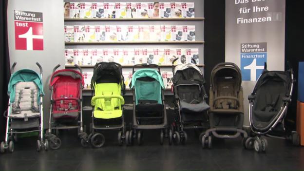 Video «Buggy-Test: Mit diesen Kinderwagen fahren Sie gut» abspielen