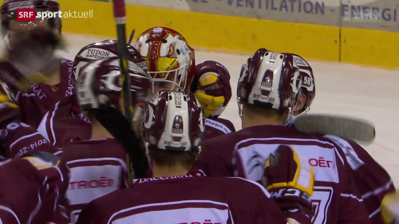 Eishockey: Genf - Biel