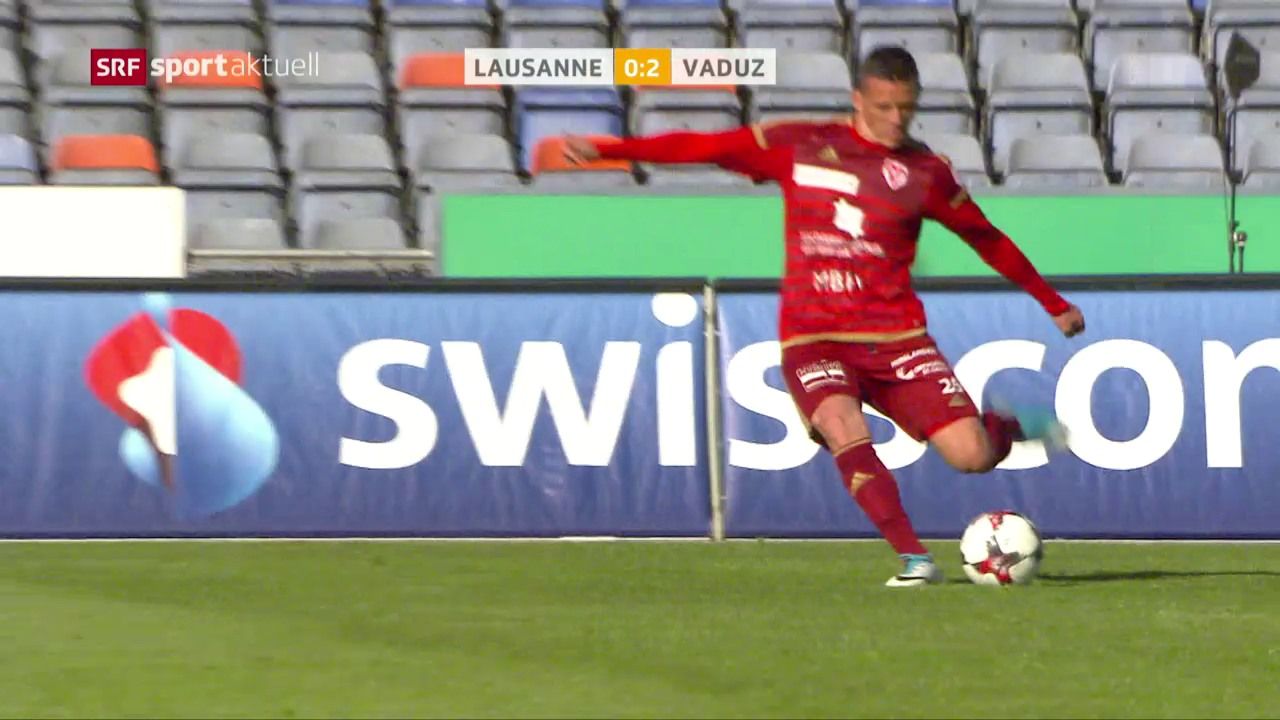 Kukuruzovic schiesst Vaduz in Lausanne zum Sieg