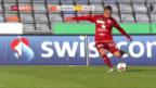 Video «Kukuruzovic schiesst Vaduz in Lausanne zum Sieg» abspielen