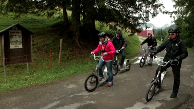 Trotti-Bergstrecken im Test: 8 von 10 Abfahrten sind gefährlich