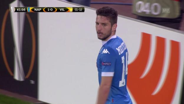Video «Napoli - Villarreal» abspielen