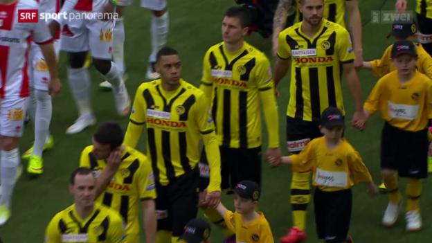 Video «Fussball: Super League, YB - Sion» abspielen