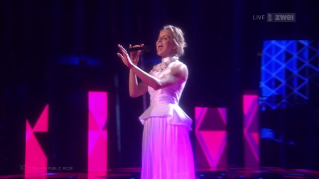 Video «#10 Tschechien: Gabriela Gunčíková mit «I Stand»» abspielen