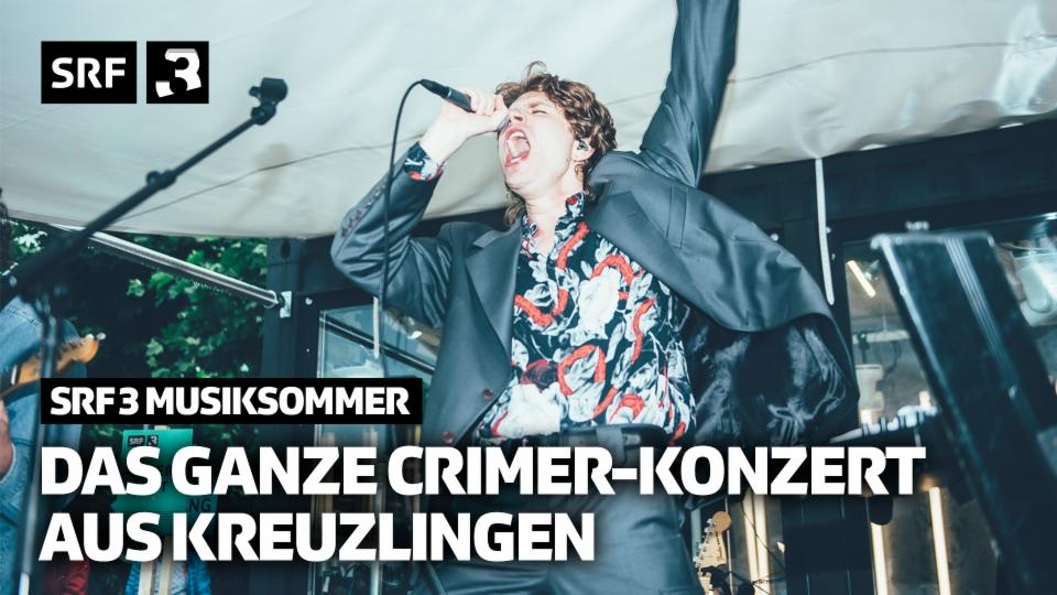 Das ganze Crimer-Konzert aus Kreuzlingen | SRF 3 Musiksommer