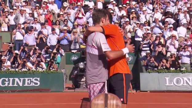 Video «Tennis: French Open, Final Wawrinka-Djokovic, Live-Highlights» abspielen