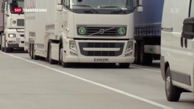 Video «Rekordhohe Busse für Lastwagen-Hersteller» abspielen