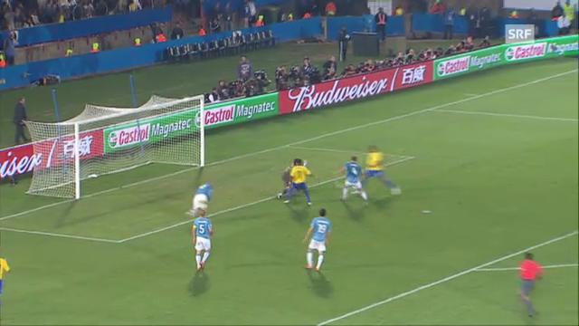 Confed-Cup 2009: Brasilien - Italien (3:0)