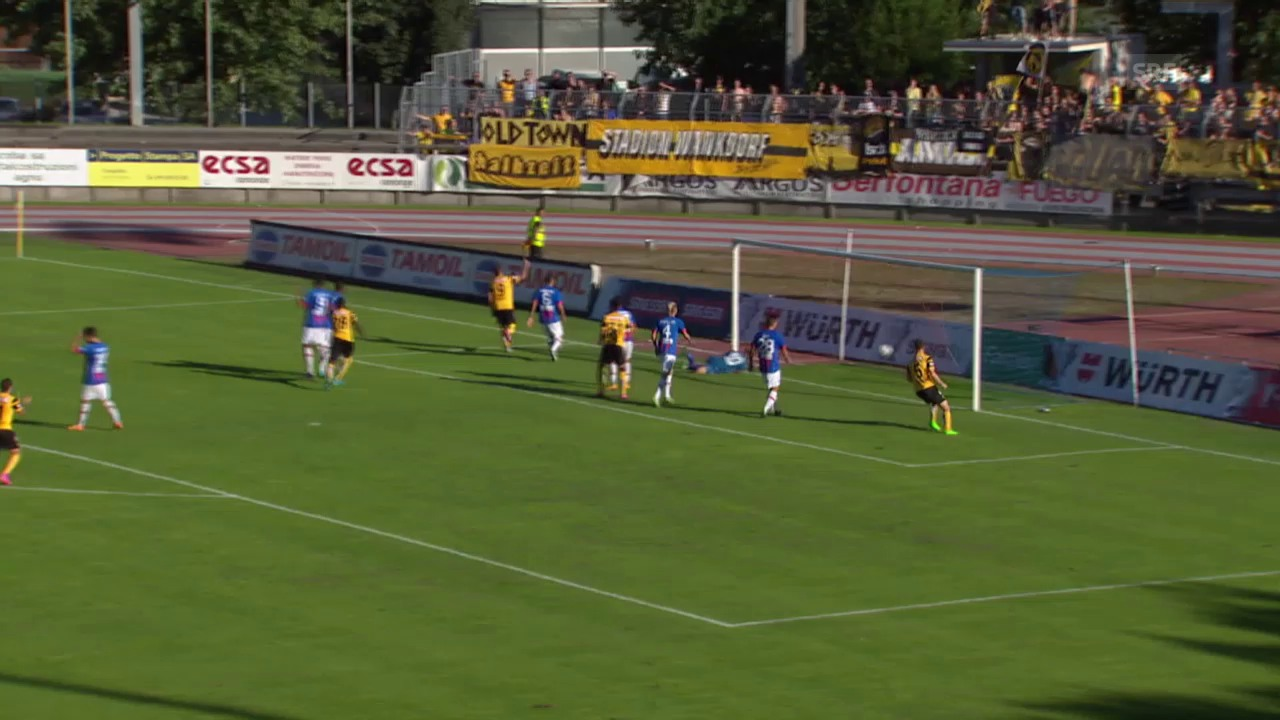 Fussball: Schweizer Cup, Chiasso – YB, 2:0 YB