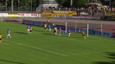 Video «Fussball: Schweizer Cup, Chiasso – YB, 2:0 YB» abspielen